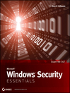 Microsoft Windows Security Essentials (eBook)