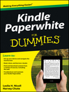 Kindle Paperwhite For Dummies (eBook)