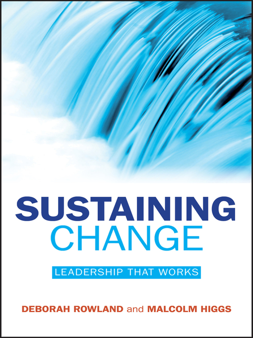 Sustaining Change (eBook): Leadership That Works
