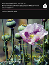 Annual Plant Reviews, Biochemistry of Plant Secondary Metabolism (eBook)