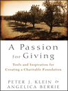 A Passion for Giving (eBook): Tools and Inspiration for Creating a Charitable Foundation