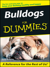 Bulldogs For Dummies (eBook)