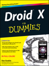 Droid X For Dummies (eBook)