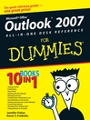 Outlook 2007 All-in-One Desk Reference For Dummies (eBook)