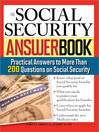 The Social Security Answer Book (eBook): Practical Answers to More Than 200 Questions on Social Security