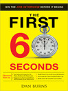 First 60 Seconds (eBook): Win the Job Interview Before It Begins