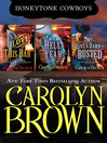 Carolyn Brown Honkytonk Bundle (eBook): I Love This Bar, Hell Yeah, My Give a Damn's Busted