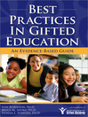 Best Practices in Gifted Education (eBook): An Evidence-Based Guide