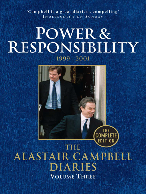 Diaries Volume Three (eBook): Power and Responsibility