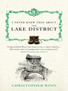 I Never Knew That About the Lake District (eBook)