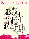 The Boy Who Fell to Earth (eBook)