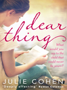 Dear Thing (eBook)