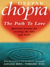 Path to Love (eBook): Spiritual Lessons for Creating the Love You Need