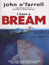 I Have a Bream (eBook)