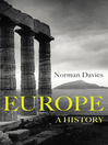 Europe (eBook): A History