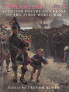 In Flanders Fields (eBook): Scottish Poetry and Prose of the First World War