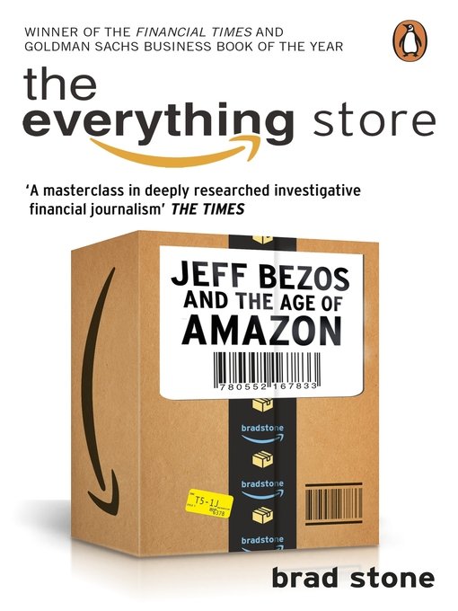 The Everything Store (eBook): Jeff Bezos and the Age of Amazon