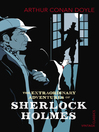 The Extraordinary Adventures of Sherlock Holmes (eBook)
