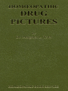 Homoeopathic Drug Pictures (eBook)