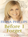 Before I Forget (eBook)