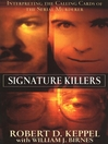 Signature Killers (eBook)