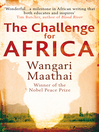 The Challenge for Africa (eBook)