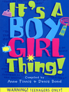 It's a Boy Girl Thing (eBook)
