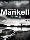 Firewall (eBook): Kurt Wallander