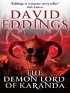 Demon Lord of Karanda (eBook): (Malloreon 3)