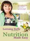 Lorraine Kelly's Nutrition Made Easy (eBook)
