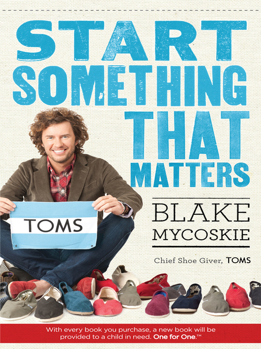 Start Something That Matters (eBook)