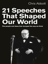 21 Speeches That Shaped Our World (eBook): The people and ideas that changed the way we think