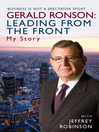Gerald Ronson (eBook): Leading from the Front: My Story