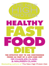 The New High Protein Healthy Fast Food Diet (eBook)