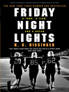 Friday Night Lights (eBook): A Town, a Team, and a Dream