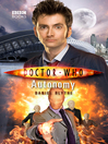 Autonomy (eBook): Doctor Who Series, Book 2