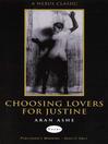 Choosing Lovers For Justine (eBook)