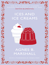 Ices and Ice Creams (eBook)