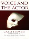 Voice and the Actor (eBook)