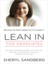 Lean In (eBook): For Graduates