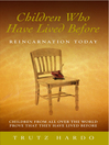 Children Who Have Lived Before (eBook): Reincarnation Today