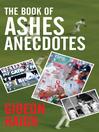 The Book of Ashes Anecdotes (eBook)