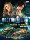 Night of the Humans (eBook): Doctor Who Series, Book 40