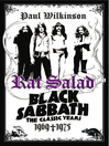 Rat Salad (eBook): Black Sabbath: The Classic Years 1969-1975