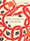 The Name of the Rose (eBook)
