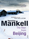 The Man From Beijing (eBook)