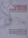 Veterinary Notes For Horse Owners (eBook)
