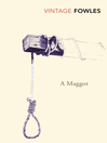 A Maggot (eBook)