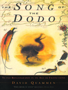 The Song of the Dodo (eBook): Island Biogeography in an Age of Extinctions
