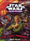 The Final Prophecy (eBook): Star Wars: The New Jedi Order Series, Book 20